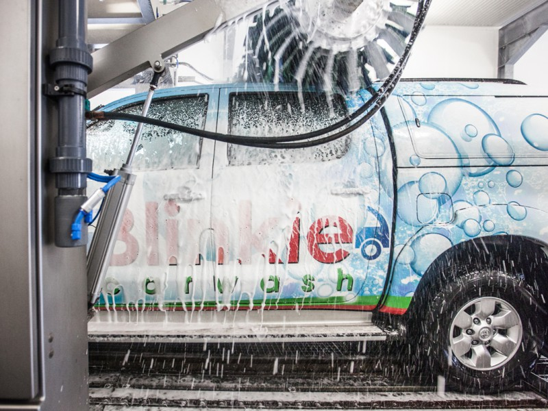 Blinkie Carwash Maaseik Limburg